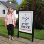 Carradale Community Shop manager Tracey Muscroft.