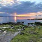 This week's photograph, sent in by Margaret Sinclair from Glenbarr, shows a sunset from the beach at Beachmenach and was taken one evening last month.