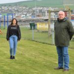 Campbeltown mum Iona MacLean and Councillor Donald Kelly have been campaigning to make Jock's Adventure Playground more inclusive.