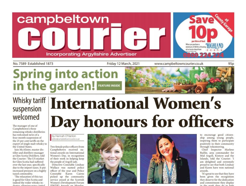 Campbeltown Courier PDF Archive 2021