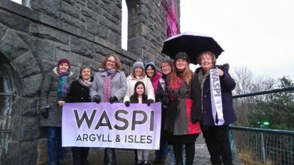 Argyll and the Isles WASPI group welcomes report findings