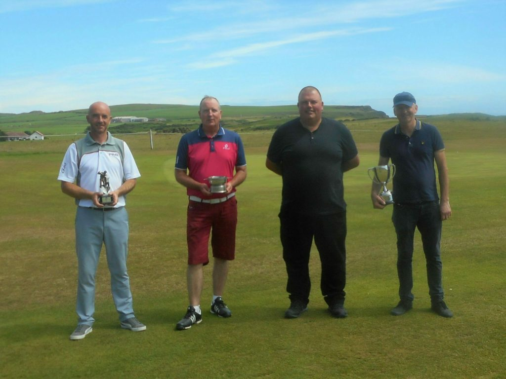 George's marvellous 22nd Dunaverty championship win