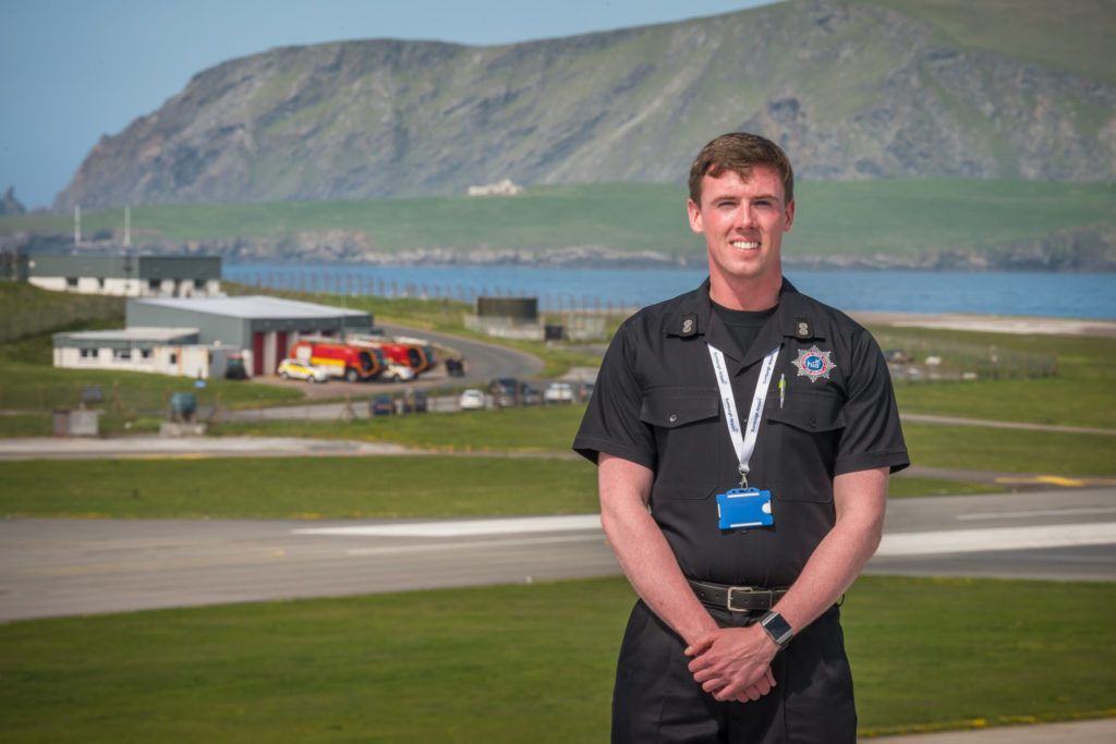 Jamie Conley: from cadet to airport chief in 13 years
