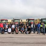 A line-up of tractors and lorries met at MACC Business Park ahead of the tractor run.