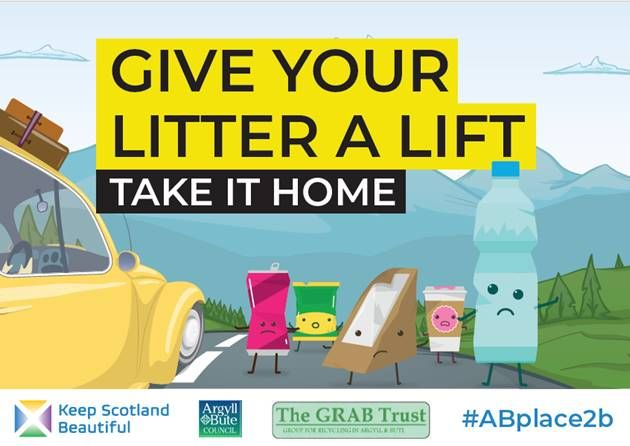 Grab your litter and take it home