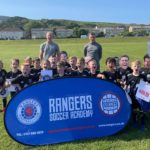 More than 160 CDJFA members benefited from the Rangers Soccer Academy sessions.
