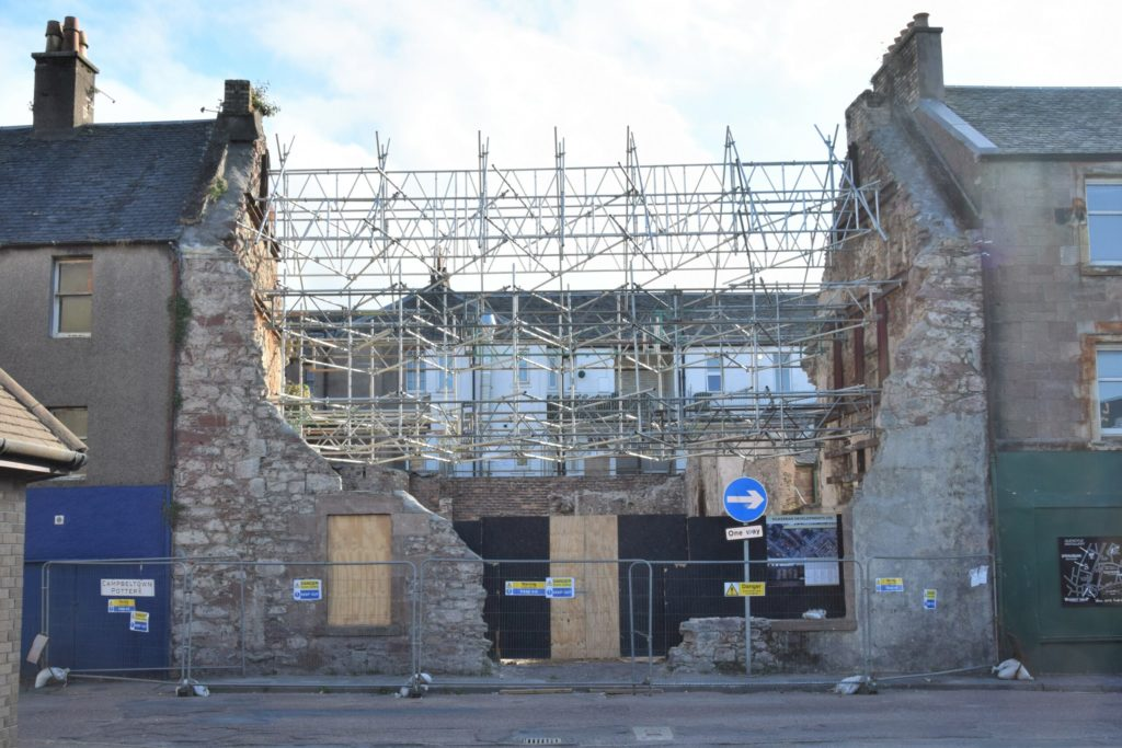 Campbeltown's Old Courthouse as it stands today.