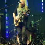 Jeff Jeffrey showed off his genius guitar skills.