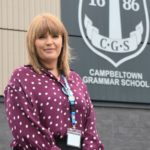 Sam Stewart, Campbeltown Grammar School's acting head teacher.