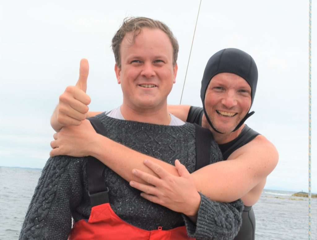 Swimming Sound of Gigha was teacher's perfect tonic