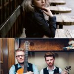 Ainsley Hamill, top, and Tom Oakes and Ross Couper are set to perform at MOKFest's Dalriada Connections Concert.