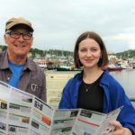 Arthur Ker and Grace Carroll take a look this year's new Artmap brochure exhibiting Argyll artists.