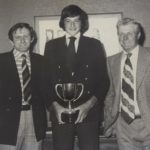 In this 1978 photograph are, from left: Hector Thomson, Stuart Campbell and Dan Stalker.