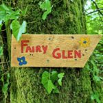 A family of fairies has moved in to Carradale's Crow Wood.