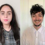 Inspiralba staff Danielle Barker, left, and Malcolm Allaway have spoken of the Kickstart Scheme's benefits.