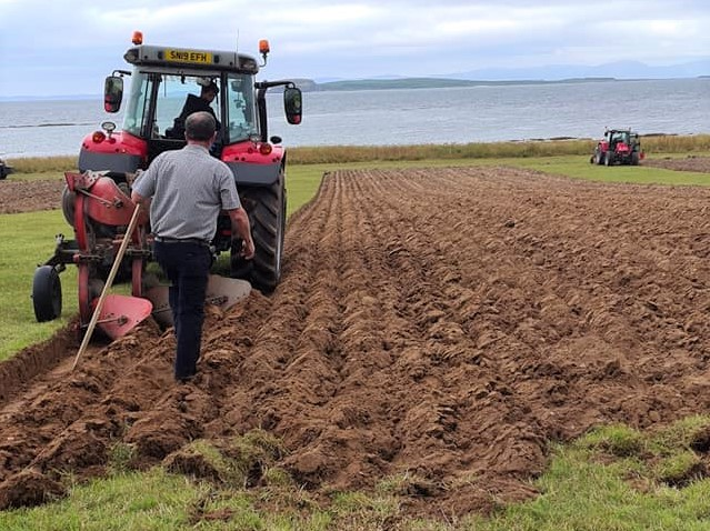 Mayberry's fine furrowing at ploughing match