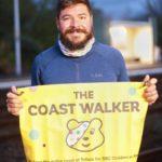 Coast walker Chris Howard.