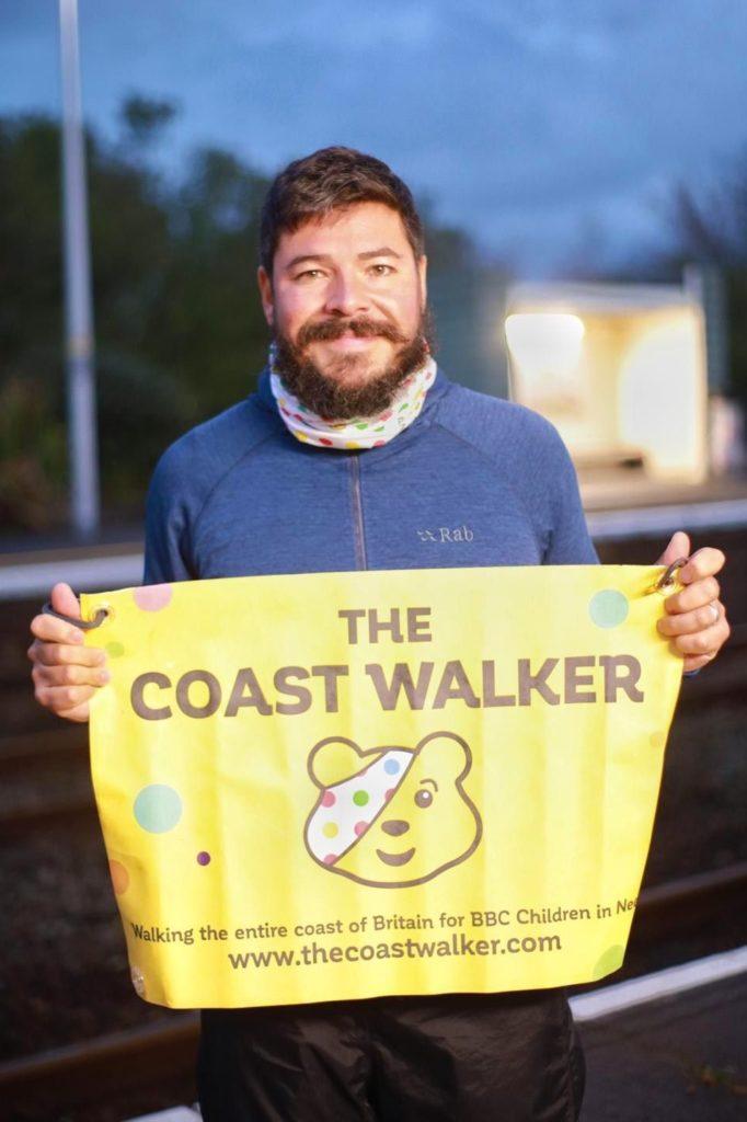 Coastline walker Chris appeals for Kintyre support