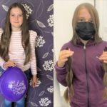 Lucy McNair donated 15 inches of hair and raised £1,000 for the Little Princess Trust in memory of her cousin.
