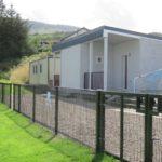 Campbeltown Pupils FC's upgraded pavilion.