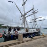 SixCampbeltown Sea Cadets spent the day on the Sea Cadet flagship TS Royalist.