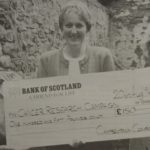 In1996: The recent Courier balloon race has been a great success. Mrs Isobel McDonald, convener, and Mrs Jane Leys, treasurer, received a cheque for £150, on behalf of the Kintyre branch of the Cancer Research Campaign. The cheque was presented by Mrs Anne Martin, advertising manager at the Campbeltown Courier, who organised the race. The balloons, which were released from Anderston Park during the Kintyre Agricultural Society Annual Livestock Show, are being returned daily from near and far. The closing date for entries is September 30.