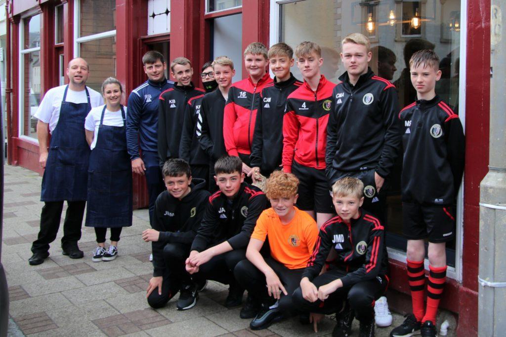 Young Pupils teams take on Oban Saints