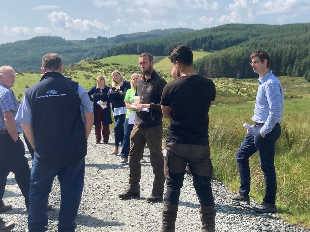 Argyll farmers meet politicians