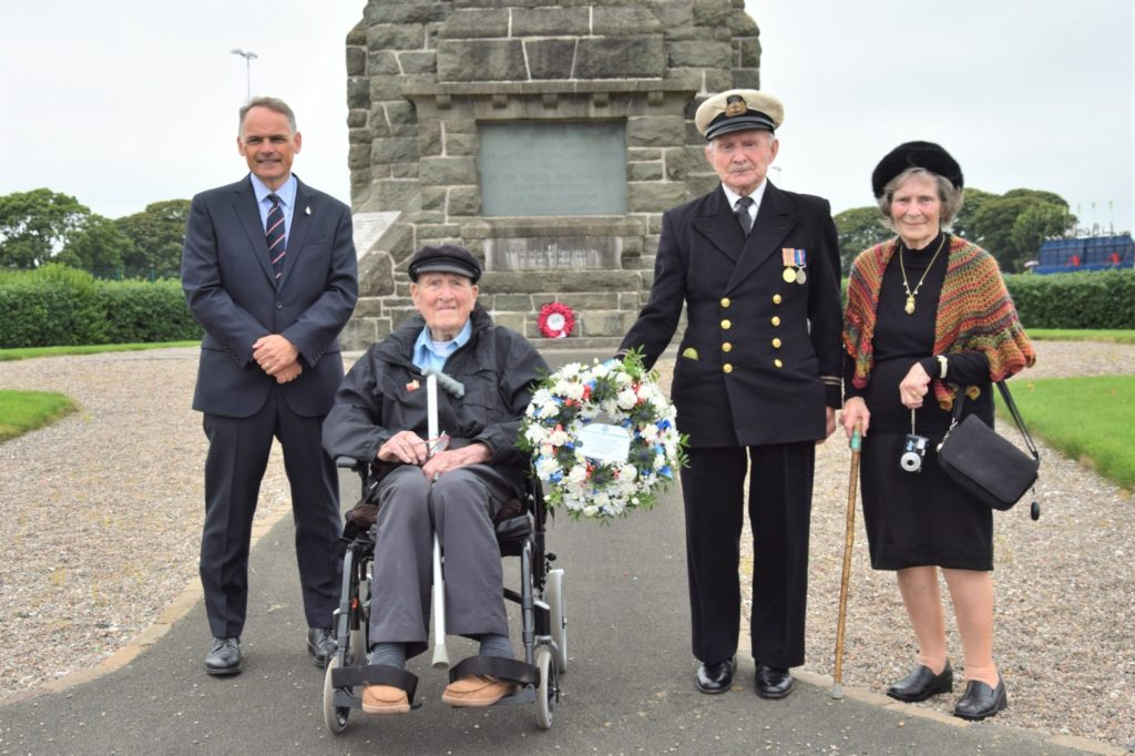 Turnout adds to emotion as merchant seafarers remembered