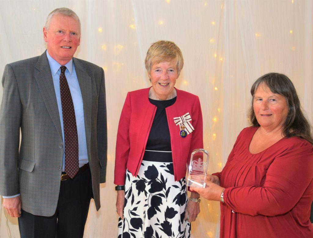 Shopper-Aide receives Queen's Award after a decade of service