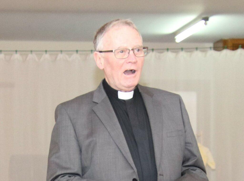Reverend William Crossan.