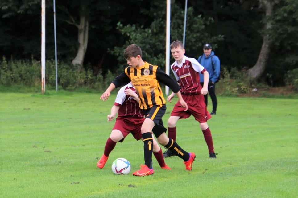 A brace from Jack Green boosted the Pupils' scoreline.