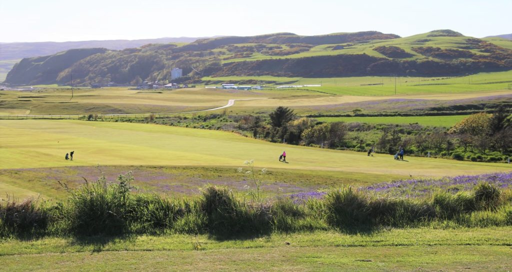 The course was said to be in 'superb' condition for the competition.