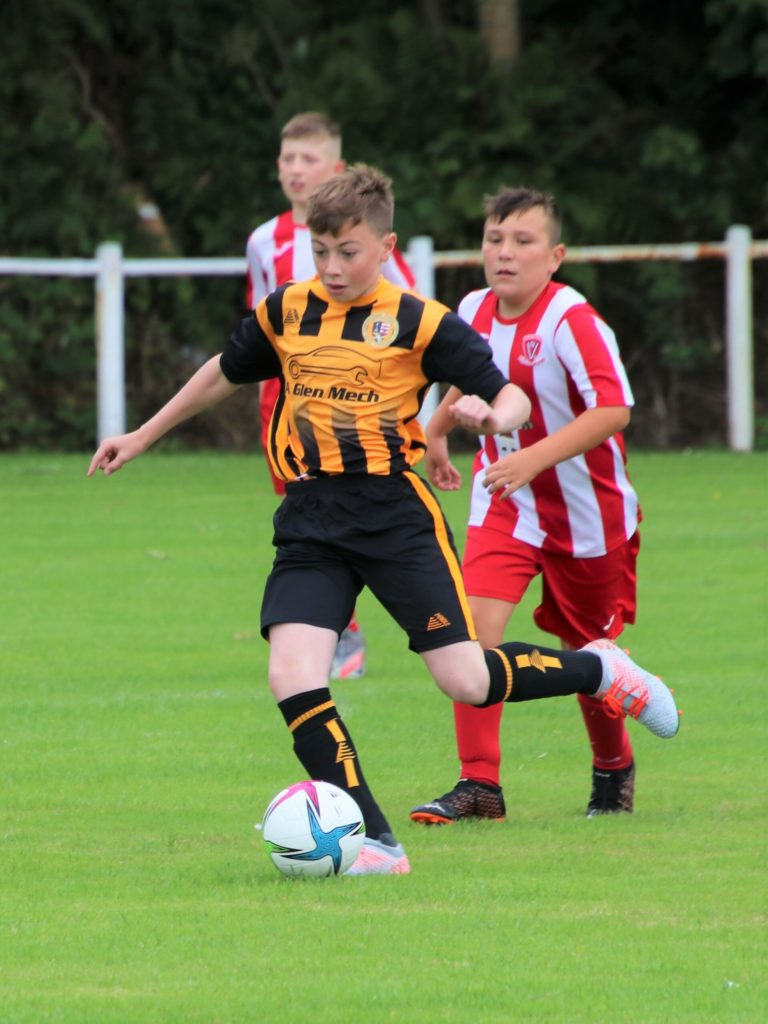 Young Pupils learn from Dumbarton defeat