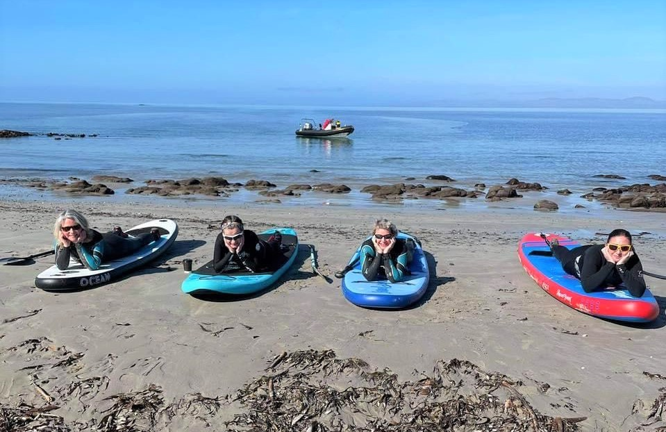 Anyone for a SUP? The water sport taking Scotland by storm