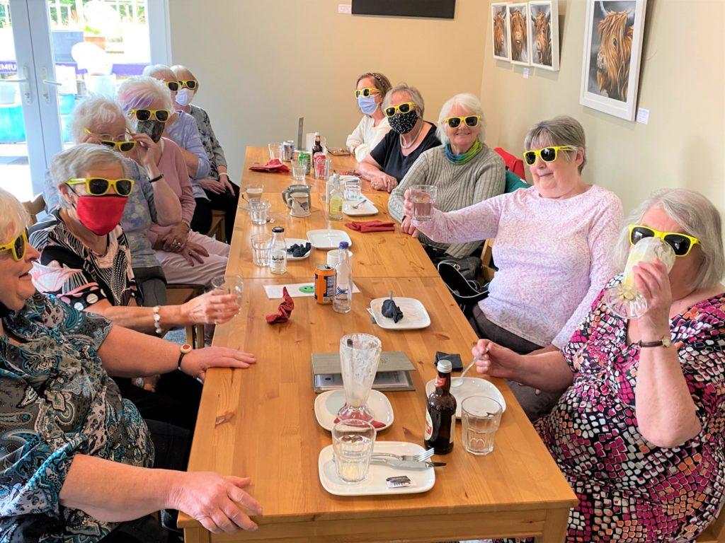 Seniors enjoy first happy bus trip in 18 months