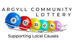 Argyll Community Lottery is a great way to support local causes.