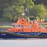 Holidaymaker Graham Hall sent the Courier this recent photograph of Campbeltown's Severn class lifeboat, Ernest and Mary Shaw, on exercise in Campbeltown Loch.