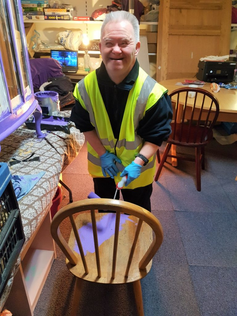 'Pre-loved' furniture shop receives national re-use quality standard award