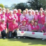 In 2011: Bowlers donned their pink attire on Sunday to raise funds for the Breast Cancer Campaign. A total of 16 pairs took part in the competition at Campbeltown Bowling Club competing for the George and Jenny MacKay Memorial Trophy.As well as the bowling competition, there was also a baking stall and a barbecue to help boost funds. A total of £711 was raised on the day with members dressing up in pink to join in with the occasion. The final, between Jean Miller and Steven Dickson, and Angus Brodie and Alistair MacKay, was a closely fought match which resulted in a measure at the last end giving Jean and Steven the win.
