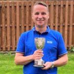 Tarbert Golf Club champion Angus MacFarlane.