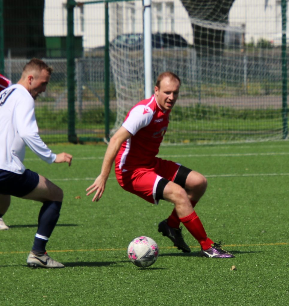 John McCallum, pictured earlier this year, scored the Pupils' only goal.