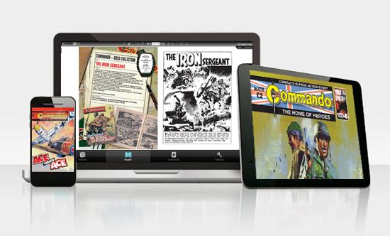 Commando digital edition apps