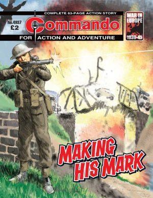 Making His Mark