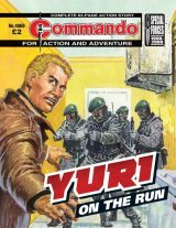 Yuri: On the Run, cover by Manuel Benet