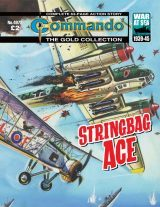 Stringbag Ace, cover by Ken Barr