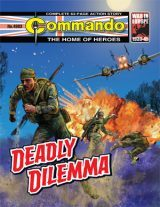 Deadly Dilemma cover by Janek Matysiak