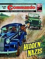 Hidden Nazis, cover by Manuel Benet