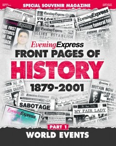 Evening Telegraph to run 'Front Pages of History' series