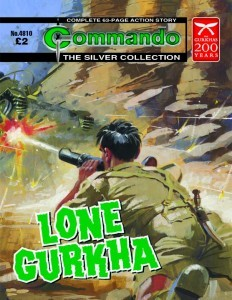 Commando Re-Release Special Edition Stories to Support Gurkha 200